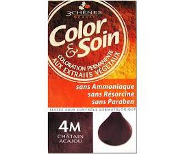 Les 3 Chênes Color & Soin chatain naturel 4N