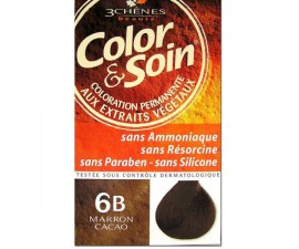 Les 3 Chênes Color & Soin chatain brownie