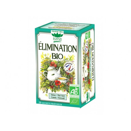 ROMON NATURE Tisane Elimination Minceur Bio - 20 sachets