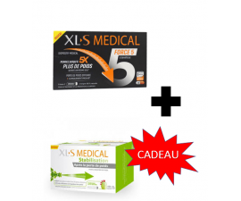 XLS Medical Force 5 / 180 GELLULES+ XLE Medical Stabilisation EN CADEAU