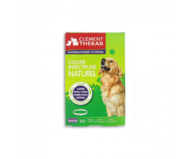Collier insectifuge naturel chien