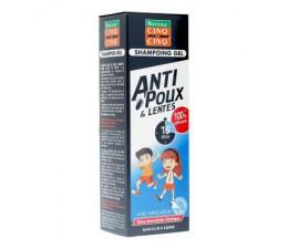 Cinq sur Cinq Natura shampoing gel anti-poux 100 ml