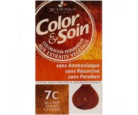 Les 3 Chênes Color & Soin blond fonce dore 6G