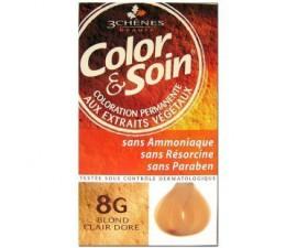 Les 3 Chênes Color & Soin blond terre cuivre 7C
