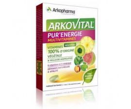 ARKOPHARMA - Arkovital - Pur'Energie 30comprimés