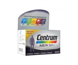 CENTRUM Men 50+ vitamines et minéraux 30 comprimés