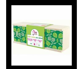 LAMAZUNA Coffret zéro déchets plumier vert