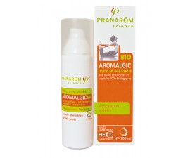 Aromalgic bio huile massage corps