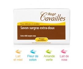 Savon Surgras Extra Doux Lait de Rose 150g Rogé Cavaillès