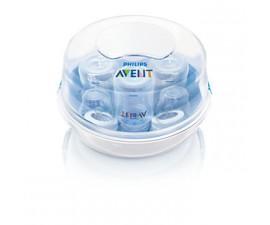 Stérilisateur pour micro ondes à vapeur Avent