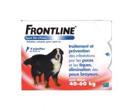 Frontline traitement et prévention des puces, tiques et poux broyeurs