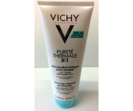 Pureté thermale 3 en 1 démaquillant intégral peau sensible