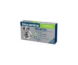 Biocanina milbetel vermifuge 12,5 Mg 125mg chien